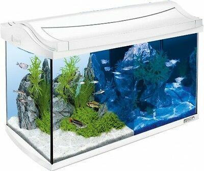 Tetra 244900 AquaArt LED Complete Aquarium Set, 60 L, White