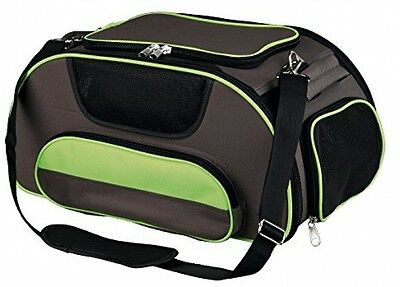 Trixie Wings AirlinDog Carrier, 46 X 28 X 23 Cm, Brown/Green
