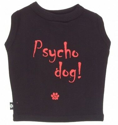K9 Psycho Dog T-shirt In Tin, Black, Large