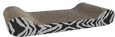 Catit Tiger Design Patterned Scratching Board With Catnip, Lounge