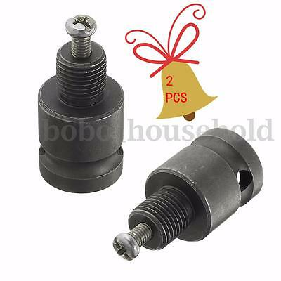 1 PCS Drill Chuck Adaptor For Impact Wrench Conversion 1/2-20UNF Grey 1/2''