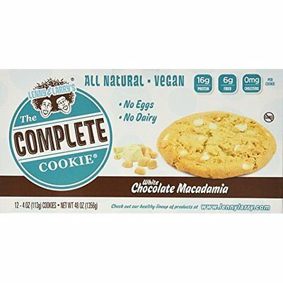 Lenny & Larry's The Complete Cookie White Chocolate Macadamia Cookies - Pack of