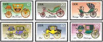 Timbres Véhicules Transports Allemagne RDA 1823/8 ** lot 16511