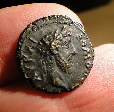 Intriguing Roman Bronze Coin possibly Provincial Issue