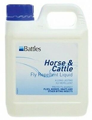 Battles Horse and Cattle Fly Repellent Liquid - 1 Litre