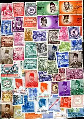 Indonésie - Indonesia 300 timbres différents