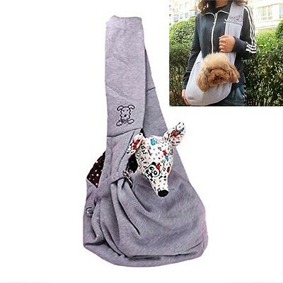 Pets Sling Carrier Shoulder Bag For 3KG Small Dog Cat Puppy Pouch For Travel