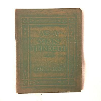 1920s Little Leather Library AS A MAN THINKETH James Allen