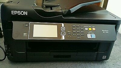 Epson WF-7610DWF All-in-One Inkjet Printer