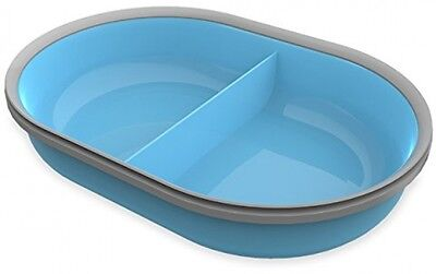 SureFeed Split Bowl, Blue