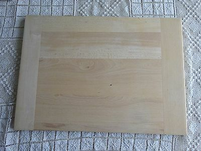 Stunning Vintage Wooden Pastry Board With Bread Board Ends