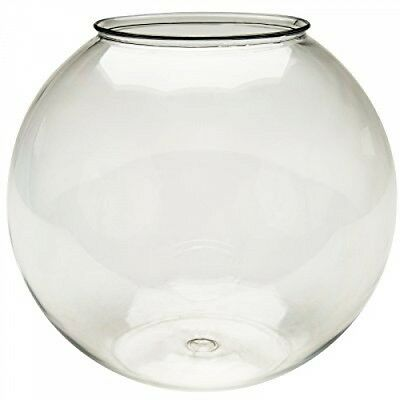 Agrobiothers Glass Ball 250 Plastic Fish For Aquarium