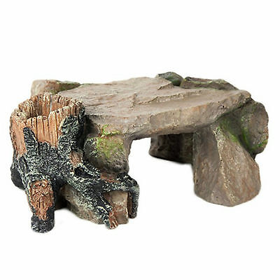 Aquarium Ornament Flintstone Hiding Cave