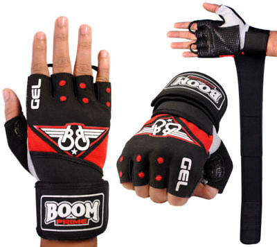 BOOM Prime Wheelchair Fingerless Mobility Specific Sports Gloves Gym Weight
