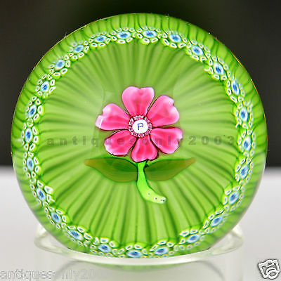 PERTHSHIRE Miniature Flower 1972C Millefiori Scottish Glass Paperweight LIMITED