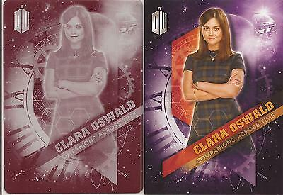 """Doctor Who Timeless - Companions """"Clara Oswald"""" Magenta Printing Plate 1/1"""