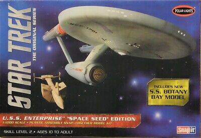 Star Trek U.S.S. Enterprise NCC-1701 Botany 1:1000 Polar Lights POL908 Bausatz
