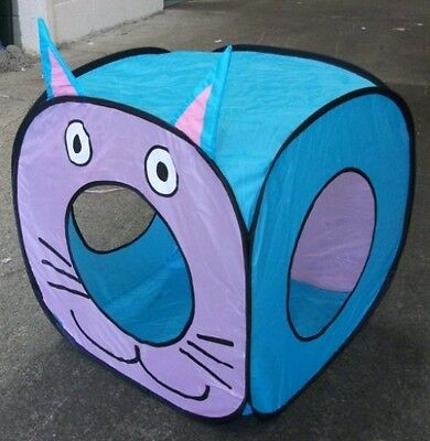 Big Cat Fun Cube - Pop Up Play Cube For Larger Cats • EUR 29,80