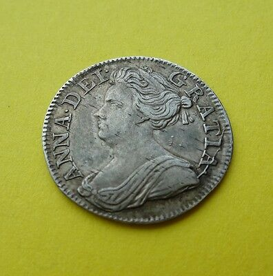 1709  Anne Threepence Rare Date