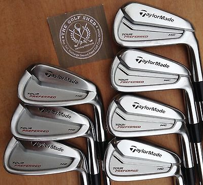 TaylorMade MC TP Irons 4 - PW  - KBS TOUR STIFF SHAFTS