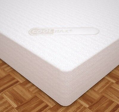 CoolMax Classic - 5FT King Size 18cm - Memory Foam Mattress - CoolMax Cover