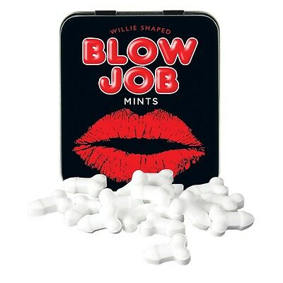 Tin Blow Job Mints Adult Novelty Gift Stag Hen Birthday Xmas Stocking Filler
