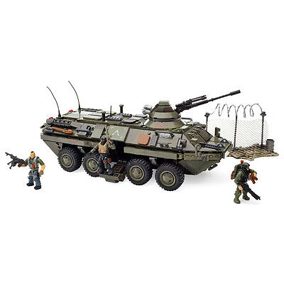 Mega Bloks Call of Duty Combat Vehicle Building Play Set w/ Figures | CNG87