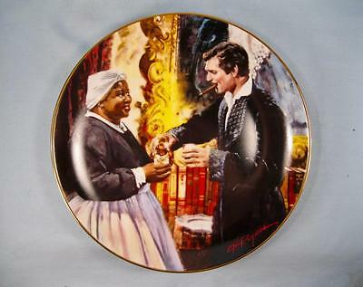 A Toast To Bonnie Blue Collector Plate W S George China Gone With The Wind (O)