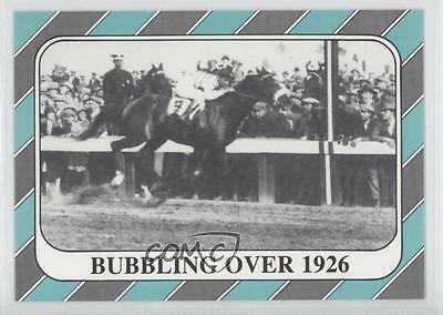 1991 Horse Star Kentucky Derby #52 Bubbling Over MiscSports Card 0l5