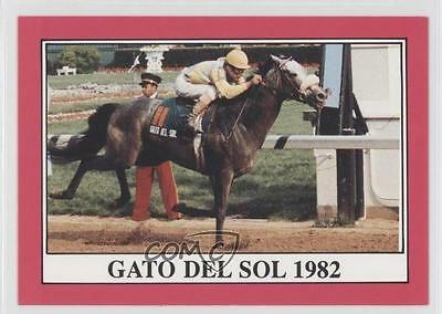 1991 Horse Star Kentucky Derby #108 Gato del Sol MiscSports Card 0l5