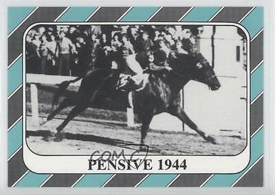 1991 Horse Star Kentucky Derby #70 Pensive MiscSports Card 0l5