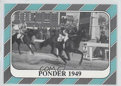 1991 Horse Star Kentucky Derby #75 Ponder MiscSports Card 0l5