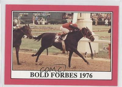1991 Horse Star Kentucky Derby #102 Bold Forbes MiscSports Card 0l5