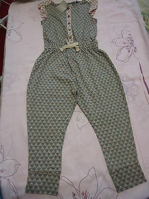 next girls playsuit / jumpsuit / outfit  NWT 3Y