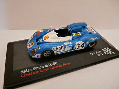 voiture RALLYE tour auto  1/43 IXO altaya MATRA Simca MS650 1971