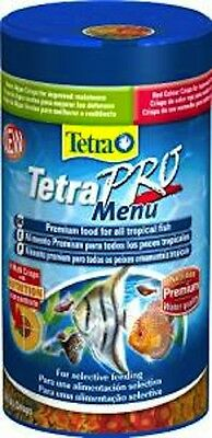 TETRA TETRAPRO MENU PREMIUM TROPICAL FISH FOOD 64g/250ml 4004218197091