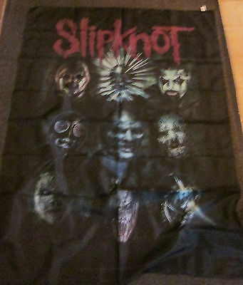 Slipknot Under Texile Poster Flag  Rare New Never Opened Faces