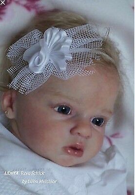 ❤️Beautiful Reborn Doll Baby❤️ Custom Made From Lenya Kit By Riva Schick ❤️