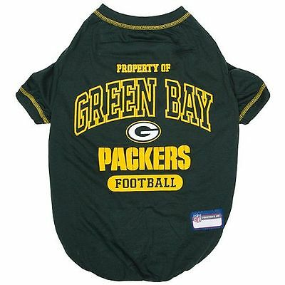 Green Bay Packers NFL dog pet Tee Game Shirt  all sizes