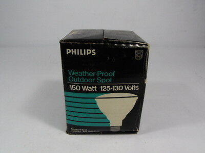 Philips 150PAR/SP Weatherproof Outdoor Flood Lamp 150W 125-130V ! NEW !