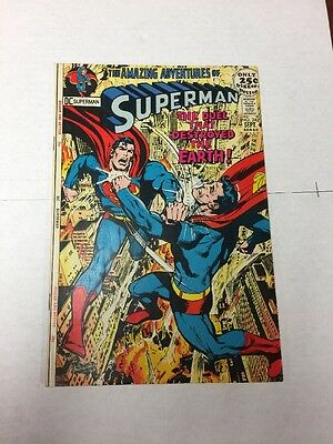Superman 242 Vf+ 8.5 Neal Adams Cover