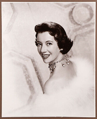 Vintage 1940s Wallace Seawell Exhibition Photograph Stylish Opera Diva Lily Pons