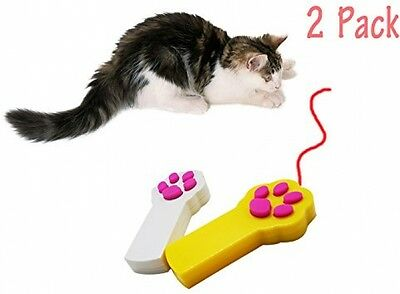 Baby Pet®Cat Interactive LED Light Pointer Cat Exercise Chaser Toys Pet Tool(2