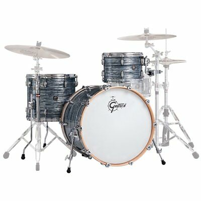 GRETSCH NEW RENOWN MAPLE 2016 Silver Oyster Pearl BATTERIA ACUSTICA