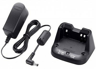 Icom Bc193 Rapid Charger & Bc06S Ic-F3002 F4002 F27Sr Radio Using Bc265 Battery