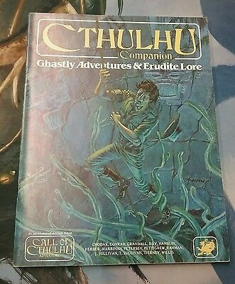 Cthulhu RPG Ghastly Adventures & Erudite Lore book