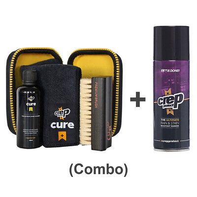 Crep Protect Cure Travel Kit & Ultimate Rain Stain Shoe Spray 5 OZ 200ml bundle