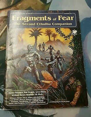 Cthulhu RPG Fragments of Fear Companion Book
