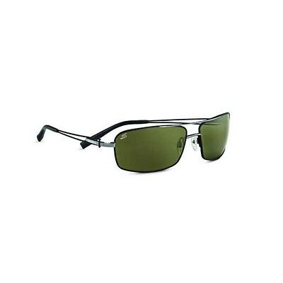 Serengeti Dante Sunglasses (Polarized 555Nm Lens Shiny Gun Tannery Frame)