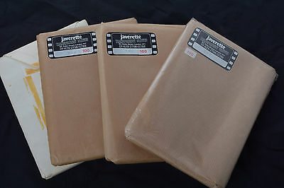 """5""""x7"""" negative or transparency sleeves. Clear & frosted the other Packs of 100"""